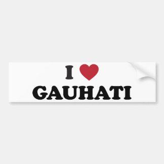 I Heart Gauhati India Bumper Sticker