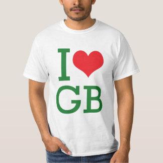 i heart gb tee shirts