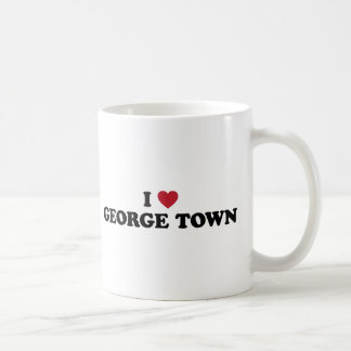 I Heart George Town Penang Malaysia Basic White Mug