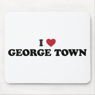 I Heart George Town Penang Malaysia Mouse Pad