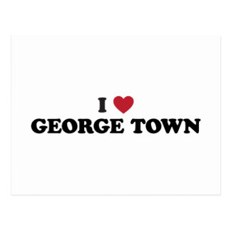 I Heart George Town Penang Malaysia Postcards
