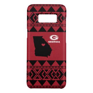 I Heart Georgia State | Tribal Pattern Case-Mate Samsung Galaxy S8 Case