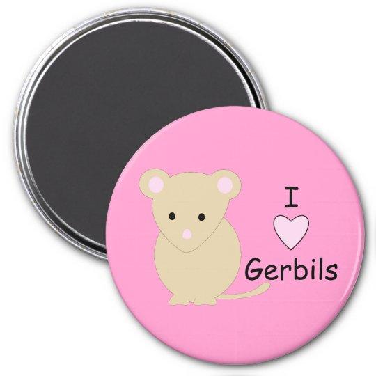 I Heart Gerbils Magnet