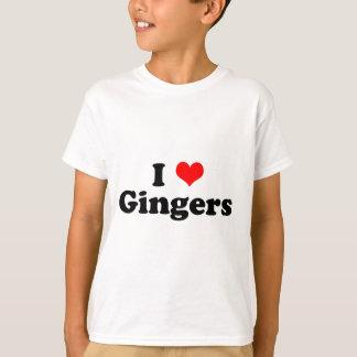 I Heart Gingers T-Shirt