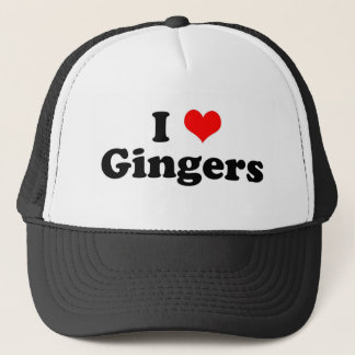 I Heart Gingers Trucker Hat