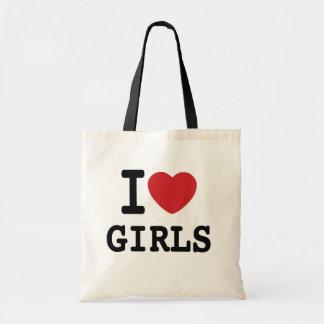 I Heart Girls New York inspired Tote Bag