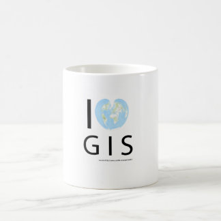 I heart GIS Coffee Mug