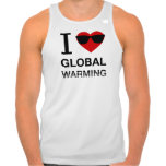 I Heart Global Warming Tank Top