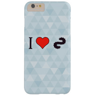 I Heart Going Fishing Barely There iPhone 6 Plus Case