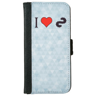 I Heart Going Fishing iPhone 6 Wallet Case