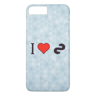 I Heart Going Fishing iPhone 7 Plus Case