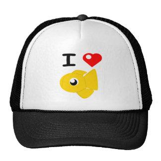 I Heart Goldfish Plushies Shirt Cap