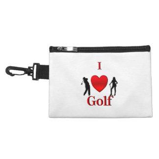 I Heart Golf Accessories Bag