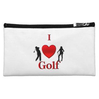 I Heart Golf Makeup Bags