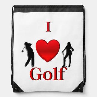 I Heart Golf Rucksacks