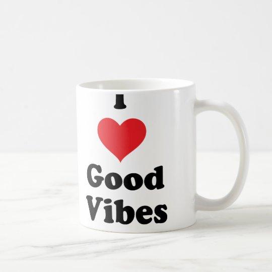 I (Heart) Good Vibes Coffee Mug