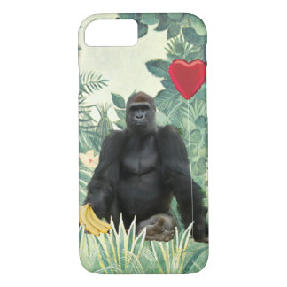 I Heart Gorillas IPhone Case