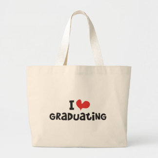 I heart Graduating Jumbo Tote Bag