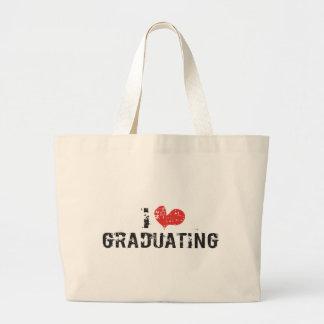 I heart Graduating Canvas Bags