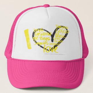 I Heart Graffiti Yellow Trucker Hat