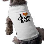 I (heart) Grand Kids Pet Clothes