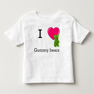 I heart gummy bears t-shirt
