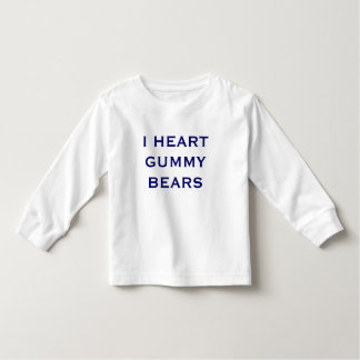 I HEART GUMMYBEARS T SHIRTS