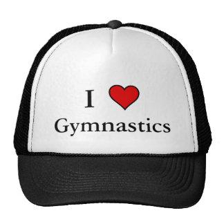 I Heart Gymnastics Mesh Hats