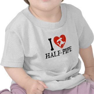I Heart Half Pipe Tshirts