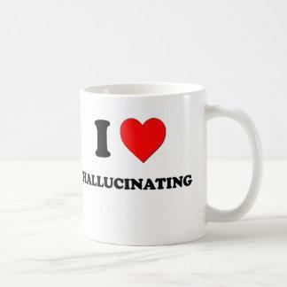 I Heart Hallucinating Coffee Mugs