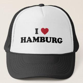 i Heart Hamburg Germany Trucker Hat