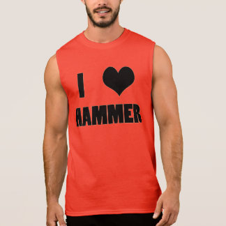 I Heart Hammer, Hammer Throw Tank Top