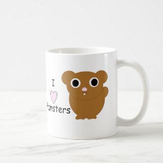 I Heart Hamsters Coffee Mugs