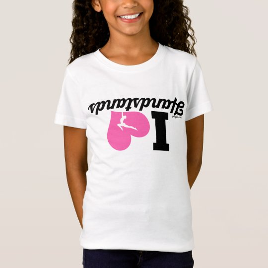 I HEART Handstands - Gymnastics T-Shirt