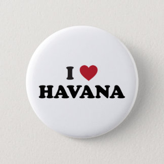 I Heart Havana Cuba 6 Cm Round Badge