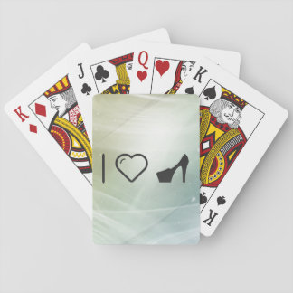 I Heart Heels Playing Cards