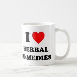 I Heart Herbal Remedies Coffee Mug