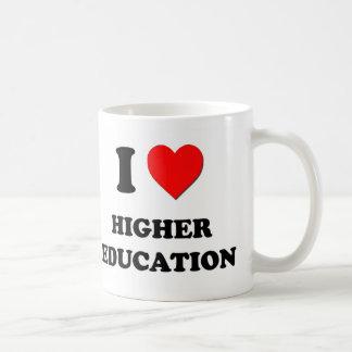 I Heart Higher Education Coffee Mug