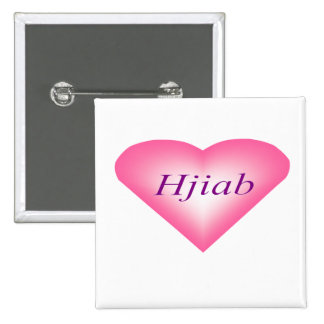 I Heart Hijab Button