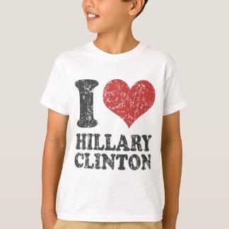 I heart Hillary Clinton Retro T-Shirt