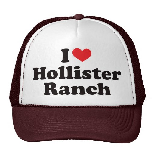 I Heart Hollister Ranch Mesh Hat