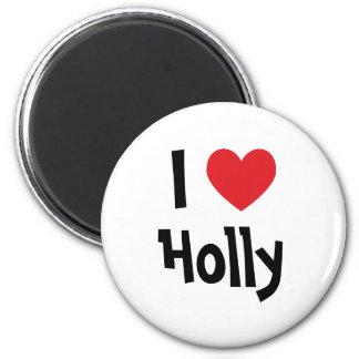 I Heart Holly Refrigerator Magnets