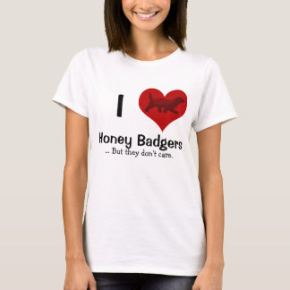 I Heart Honey Badgers T-Shirt