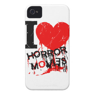 I HEART HORROR MOVIES iPhone 4 Case-Mate CASES