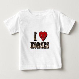 I Heart Horses (in White) T-shirt