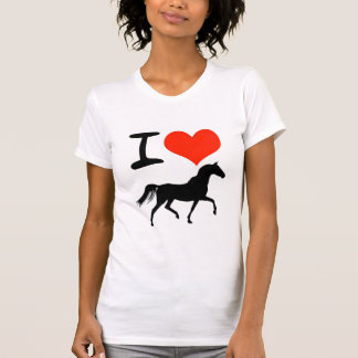 I Heart Horses T Shirts