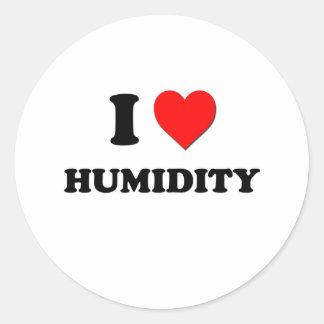 I Heart Humidity Stickers