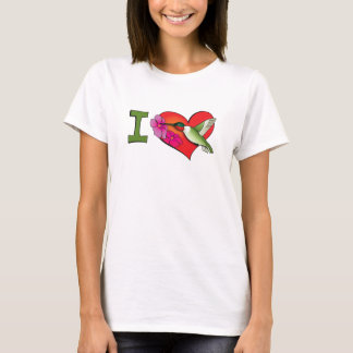 I heart hummingbirds T-Shirt
