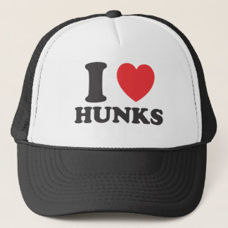 I Heart Hunks Trucker Hat