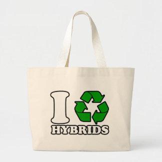 I Heart Hybrids Jumbo Tote Bag